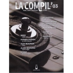 LA COMPIL N°03 Auteurs Divers Partition - Piano Chant Guitare avec Tablatures