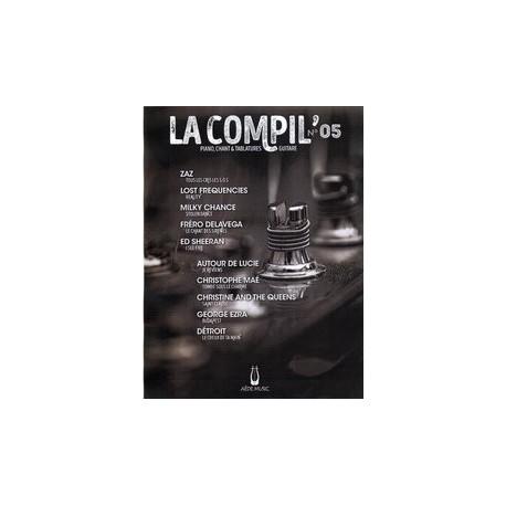 LA COMPIL N°05 Auteurs Divers Partition - Piano Chant Guitare avec Tablatures