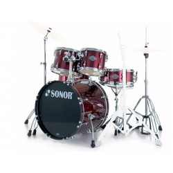 SONOR SMART FORCE COMBO SET JAZZ 18'' BRUSHED COOPER AVEC ACCESSOIRES