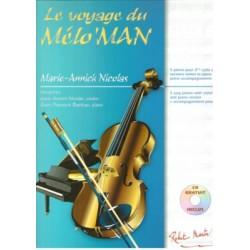 Voyage du Melo Man Musique Instrumentale