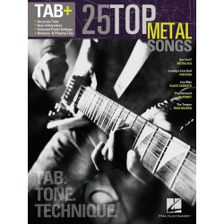 25 Top Metal Songs - Tab. Tone. Technique