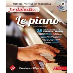 JE DEBUTE LE PIANO P.gerard