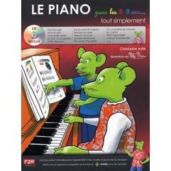 LE PIANO POUR LES 5 A 8 ANS ASTIER