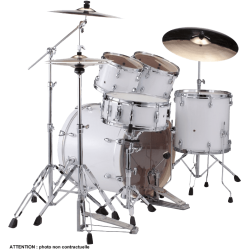 "Pearl Batteries Rock 22"" 5 fûts Arctic Sparkle"