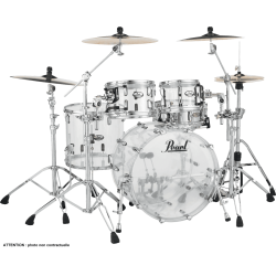 "Pearl Crystal Beat Fusion 20"" 4 fûts - Ultra Clear"