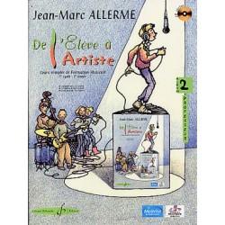 ALLERME DE L ELEVE A L ARTISTE 2 PROFESSEUR