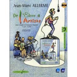 ALLERME DE L ELEVE A L ARTISTE 3 PROFESSEUR