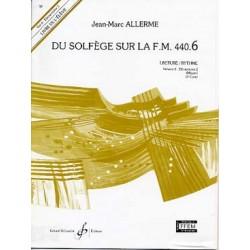 ALLERME DU SOLFEGE SUR LA FM 440.6 LECTURE RYTHME ELEVE
