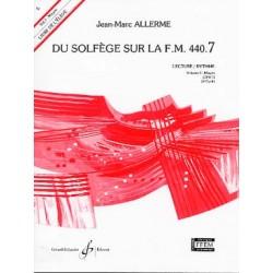 ALLERME DU SOLFEGE SUR LA FM 440.7 LECTURE RYTHME ELEVE