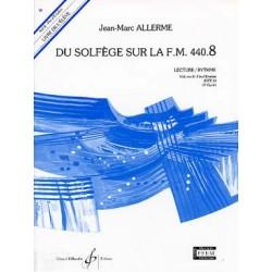 ALLERME DU SOLFEGE SUR LA FM 440.8 LECTURE RYTHME ELEVE