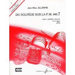 Allerme Du Solfege Sur La FM 440.7 - Chant/Audition/Analyse - Eleve - Partitions