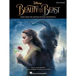 LA BELLE ET LA BETE BEAUTY AND THE BEST EASY PIANO