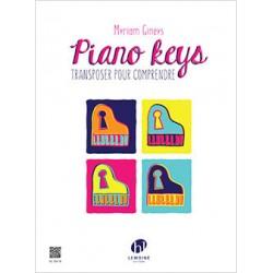 GINEYS Myriam Piano keys - Transposer pour comprendre