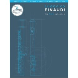Ludovico Einaudi The flute Collection book