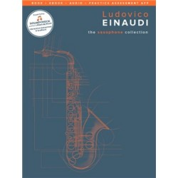 Ludovico Einaudi The saxophone Collection book