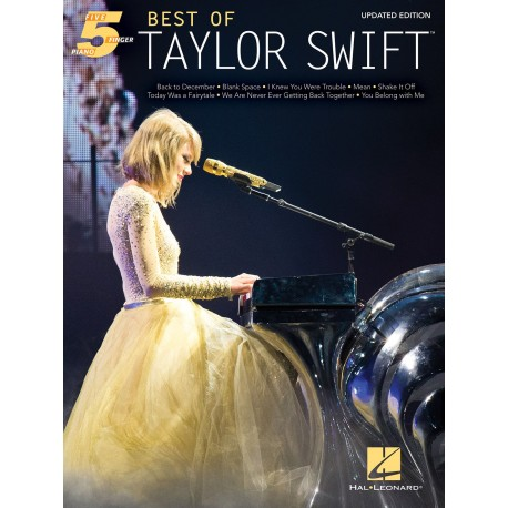 BEST OF TAYLOR SWIFT 5 FINGER PIANO