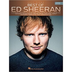 BEST OF ED SHEERAN EASY PIANO