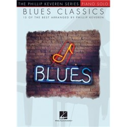 BLUES CLASSICS PHILLIP KEVEREN PIANO SOLO