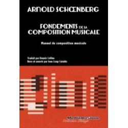 SCHOENBERG FONDEMENTS DE LA COMPOSITION MUSICALE