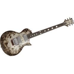 ESP 2RZKII BURNT RICHARD ZVEN KRUSPE CUSTOM SHOP