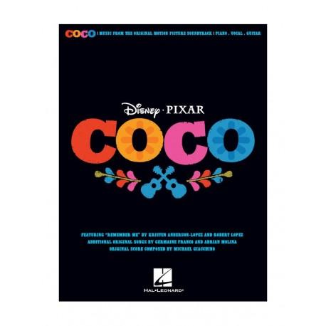 DISNEY COCO PIANO VOCAL GUITARE