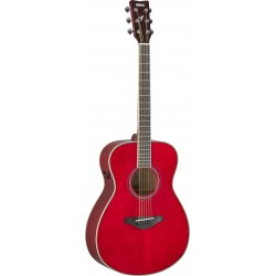 YAMAHA FS TRANSACOUSTIC RUBY RED