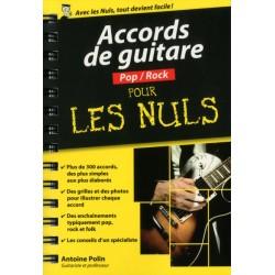 Accords De Guitare POP ROCK Pour Les Nuls - Livre