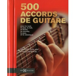 PHIL CAPONE 500 ACCORDS DE GUITARE