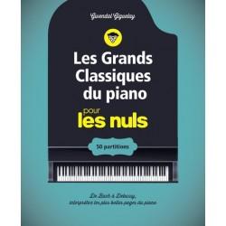 Les grands classiques du piano Pour Les Nuls - Livre