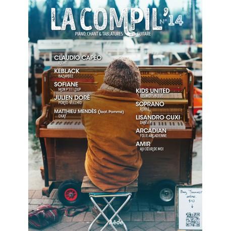 LA COMPIL 14 Auteurs Divers Partition - Piano Chant Guitare avec Tablatures