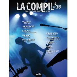 LA COMPIL 15 Auteurs Divers Partition - Piano Chant Guitare