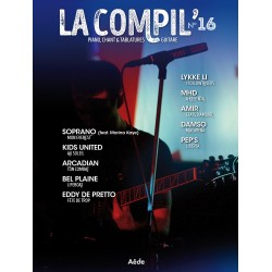 LA COMPIL 16 Auteurs Divers Partition - Piano Chant Guitare avec Tablatures