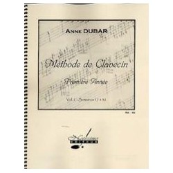 DUBAR METHODE CLAVECIN 1