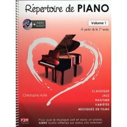 ASTIE REPERTOIRE PIANO 1