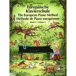 Auteur EMONTS Fritz Méthode de piano européenne - Vol. 2