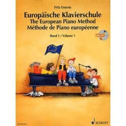 Auteur EMONTS Fritz Méthode de piano européenne - Vol. 1 AVEC CD