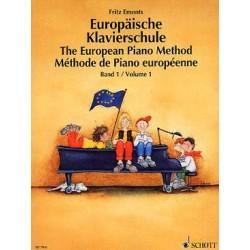 EMONTS Fritz Méthode de piano européenne - Vol. 1