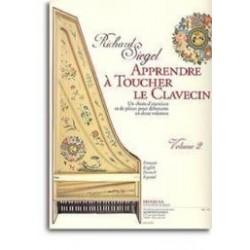 Richard Siegel Apprendre A Toucher le Clavecin. Volume 2