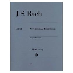 Jean-Sébastien Bach Inventions à deux voix BWV 772-786