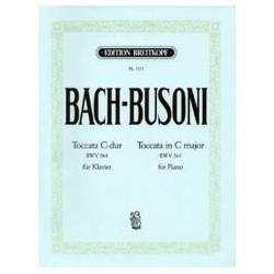 Bach Jean-Sébastien / Busoni Ferruccio Toccata do majeur BWV 564