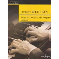 BEETHOVEN Ludwig van Sonate n°17 Op.31 n°2 en Ré min. La Tempête