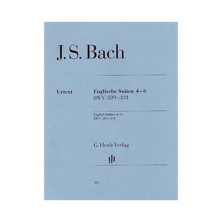 Jean-Sébastien Bach Suites Anglaises 4-6 BWV 809-811