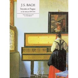 BACH Johann Sebastian Toccata et Fugue en Ré min. BWV565