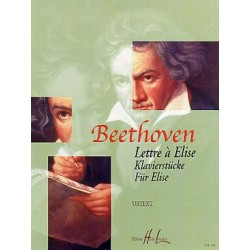 BEETHOVEN LETTRE A ELISE PIANO