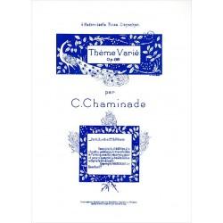 Chaminade Thème Varié Opus 89 PIANO