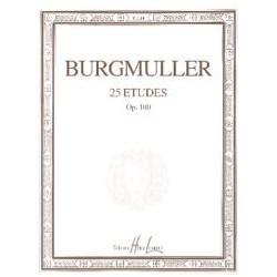 Burgmuller 25 Etudes Opus 100