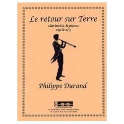 Philippe Durand Le retour sur Terre