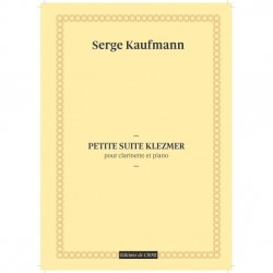 KAUFMANN PETITE SUITE KLEZMER