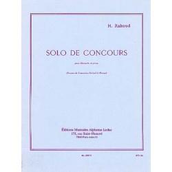 RABAUD SOLO DE CONCOURS