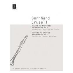 Bernhard Henrik Crusell Konzert f-moll op. 5 – Klarinette Klavier